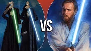 getlinkyoutube.com-Versus Series | Luminara Unduli & Barriss Offee vs Obi-Wan Kenobi (ft. Reti4)
