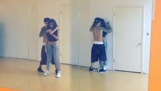 getlinkyoutube.com-Justin Bieber Selena Gomez Sexy Dance Routine- Back Together!