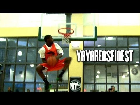 6'2 Chris Woods SHUTS DOWN The 1st Annual YAF All-Star Classic Dunk Contest!!!
