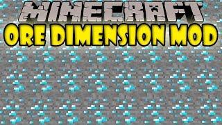 getlinkyoutube.com-ORE DIMENSION MOD - Ores INFINITOS!! (Un poco trampa xD) - Minecraft mod 1.5,2 y 1.6.4 Review