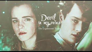 getlinkyoutube.com-Tom & Hermione | Devil in My Veins