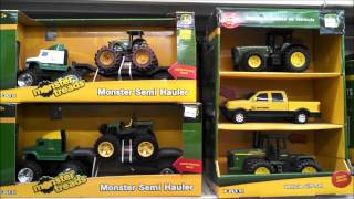 getlinkyoutube.com-John Deere Ertle Farm Toys Display Toy Hunting at Rurall King Diecast