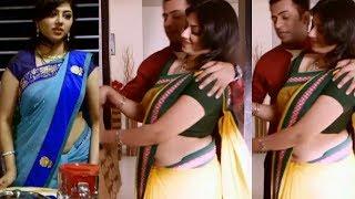 Serial Actress Hot In Saree | Travel Diaries