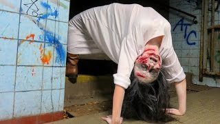 getlinkyoutube.com-Exorcist Demon Spider Walk Prank!