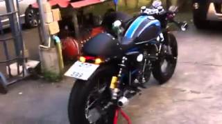 getlinkyoutube.com-Stallion Centaur cafe 150cc (อวตาร)