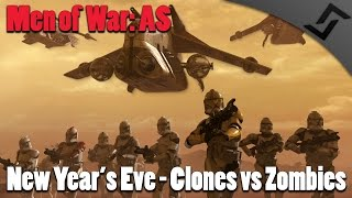 getlinkyoutube.com-Men of War: AS1 - Star Wars New Year Special - Clones vs Zombies