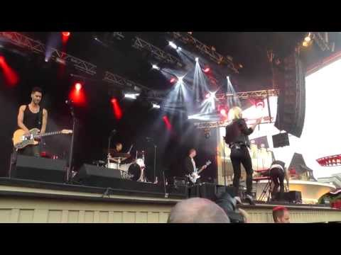 The Sounds live at Grna Lund, Sweden 17/5 - 2013 part 1/3
