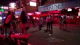 getlinkyoutube.com-Pattaya Girls Walking Street   Thailand Nightlife 2015 July