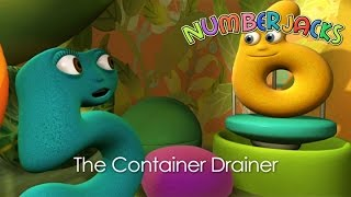 getlinkyoutube.com-NUMBERJACKS | The Container Drainer | S1E20