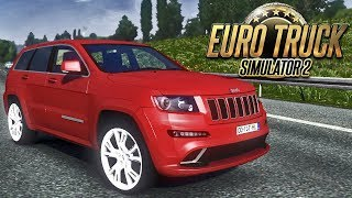 getlinkyoutube.com-Euro Truck Simulator 2 - Grand Cherokee SRT8