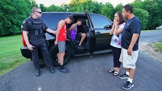 POLICE PRANK ON PARENTS! (mom cries) width=