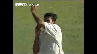 getlinkyoutube.com-Ajit Agarkar 6/41 vs Australia 2003 Adelaide Test
