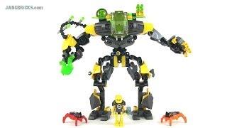getlinkyoutube.com-LEGO Hero Factory 44022 EVO XL Machine (Invasion from Below) set review!