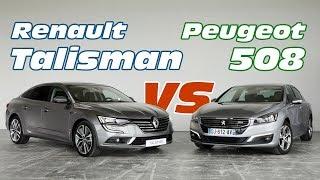 getlinkyoutube.com-Renault Talisman vs Peugeot 508 : le match des familiales françaises