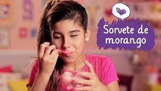 getlinkyoutube.com-Como fazer sorvete de morango com Juliê Rodrigues ❤ Mundo da Menina
