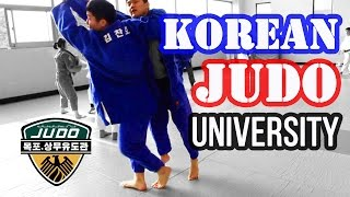 getlinkyoutube.com-Korean Judo University (This is Why They WIN!)