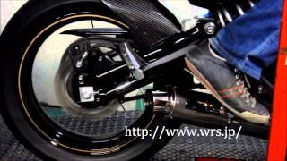 新型 Ninja400 用 フルエキゾースト - WR'Sサウンド -