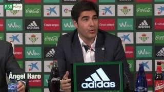 """Ángel Haro: """"El acuerdo es un gran triunfo para el Betis porque aporta estabilidad"""""""