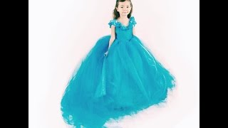 getlinkyoutube.com-DIY Cinderella Dress Tutorial