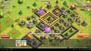 getlinkyoutube.com-Clash of Clans Town Hall 6 Attack Strategy & Farming Guide
