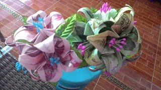 getlinkyoutube.com-วิธีพับธนบัตรรูปดอกแก้วกันทิมา