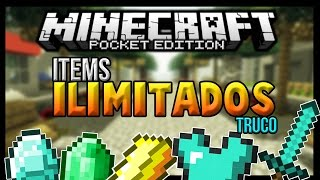 getlinkyoutube.com-¡TRUCO PARA MINECRAFT PE 0.17.0 - ITEMS INFINITOS DIAMANTE,ORO,HIERRO! [Android Fast]