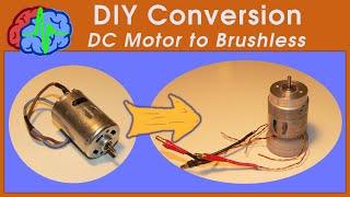 getlinkyoutube.com-How to DIY Conversion Brushed motor to Brushless motor