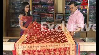 getlinkyoutube.com-Benarasi Saree Collection of Indian Silk House
