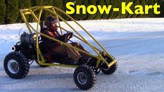 getlinkyoutube.com-Go-Kart Snow Time!