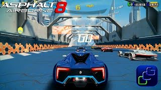 getlinkyoutube.com-Asphalt 8 Airborne Gameplay - NEW Update Track Sector 8 1080p HD