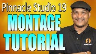 getlinkyoutube.com-Pinnacle Studio 19 Ultimate - Slideshow / Montage Tutorial