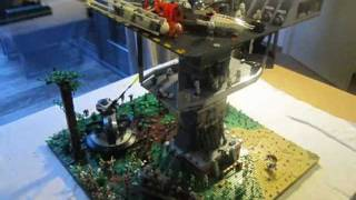 getlinkyoutube.com-LEGO Star Wars The Clone Wars Clone Base on Alderaan  MOC