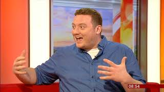My DAD  Wrote a PORNO [ Rocky Flintstone ]  BBC Breakfast interview