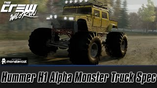 getlinkyoutube.com-The Crew Wild Run: Hummer H1 Alpha Monster Truck Spec (Customization + Test Drive)