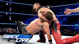 AJ Styles vs. Shinsuke Nakamura - Winner Picks Title Match Stipulation: SmackDown LIVE, May 15, 2018 width=