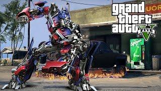 getlinkyoutube.com-GTA 5 Speirs & Jeff - Optimus Prime