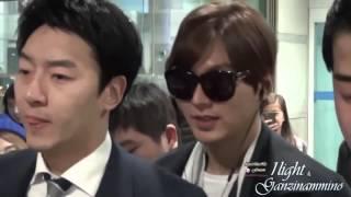 getlinkyoutube.com-Lee min ho Suzy Airport,Lee min ho Suzy Perfect Couple