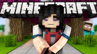 getlinkyoutube.com-If Herobrine played Yandere Simulator (Minecraft Machinima)