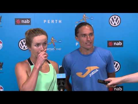 Team Ukraine press conference (Final) | Hopman Cup 2016