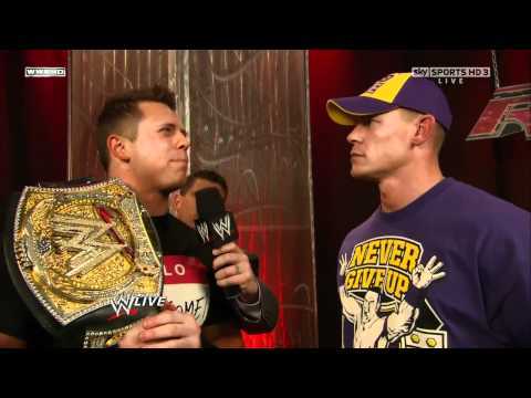 WWE Raw 24th January 2011 - New Nexus Backstage, John Cena & The Miz Interview [720p DigitalDelboy]