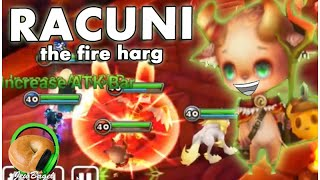 getlinkyoutube.com-SUMMONERS WAR : Racuni the Fire Harg - (Dragons B10 Spotlight)