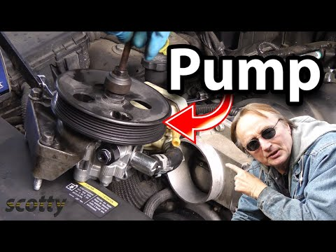 Replacing A Groaning Power Steering Pump