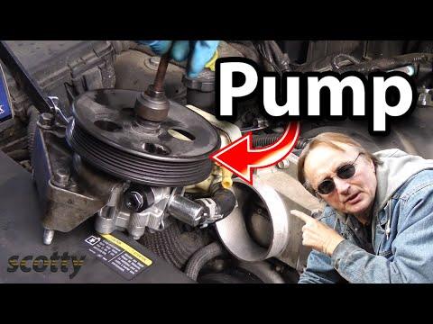 Replacing A Groaning Power Steering Pump