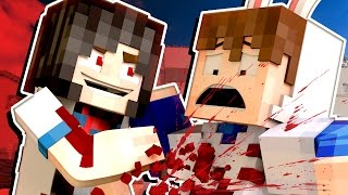 getlinkyoutube.com-YANDERE MURDER MODE! - I'M GOING TO DIE! | 🐰 Minecraft Roleplay