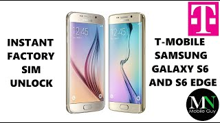 getlinkyoutube.com-T-Mobile Samsung Galaxy S6 and S6 Edge Successfully Factory SIM Unlocked!