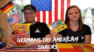 getlinkyoutube.com-Germans Try American Snacks
