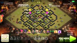 getlinkyoutube.com-Hogowiwi and Holowiwi Th9 Attack Strategy for Clan Wars