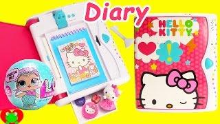 Hello Kitty Secret Key Password Diary and Surprises