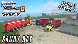 getlinkyoutube.com-Multiplayer Farming Simulator 15 | Sandy Bay S2 Ep4