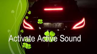 getlinkyoutube.com-Mercedes CLS 350 CDI Active Sound Exhaust System WiFi / Smartphone